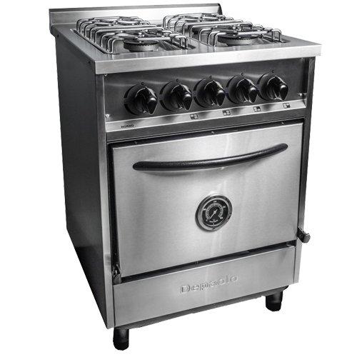 Forever equipamientos comerciales cocina 4h 600 ae gn for Cocinas 8 hornallas